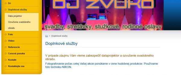 screenshot web svadobny fotograf